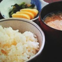 ご飯 味噌汁