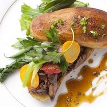 フランス料理の技法で味を引き出す。ここにしかない和仏の融合。