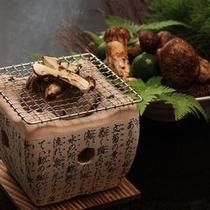 別注料理:焼き松茸