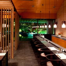レストラン天ぷらカウンター