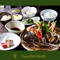 天ぷらプランの料理内容