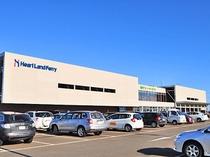 【稚内港フェリーターミナル】ホテルから車で約8分のところにございます。