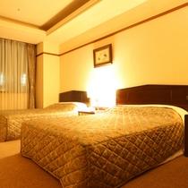 スイートルーム72平米寝室