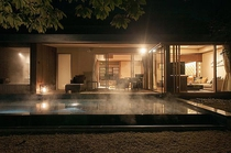 特別室離れ・露天風呂付テラス付和洋室(69平米)・プール有