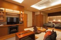 露天風呂付テラス付和洋室(52平米)・2階(C)