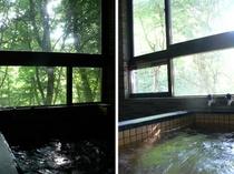 2カ所の貸し切り風呂