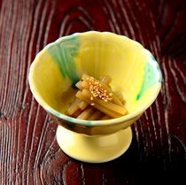 山菜小鉢1