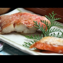 【朝食一例】焼き魚