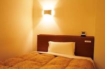 全室140cmのワイドベッド