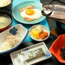 みやこ荘の朝食