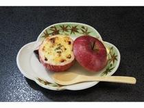林檎のクリーム焼き