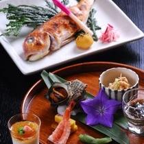 旬魚の焼魚 その時美味しいものを厳選使用いたします