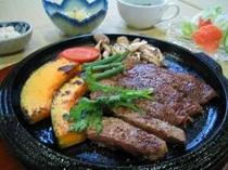 石見和牛の極上ステーキ