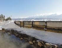 冬の大浴場露天風呂