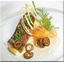 太刀魚のハーブマリネ&グリル