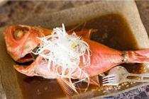 料理の一例5 ※料理内容は、季節や仕入れ状況によって多少変わります。