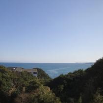 【お部屋からの眺め】雄大な太平洋をご覧いただけます