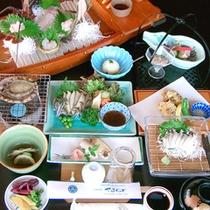 【料理イメージ】漁師町ならではの旬の新鮮な魚介類を堪能