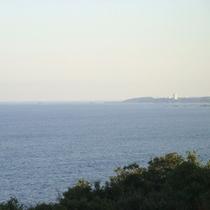 【お部屋からの眺め】志摩半島と太平洋の風景