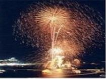 花火大会(7月下旬には鳥羽みなとまつりが開催されます)