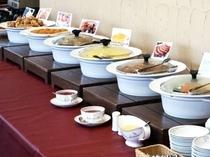 朝食ビュッフェ ※イメージ図