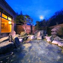 ■石庭風露天風呂■