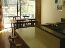 お部屋の一例です。広々としたリビングでのんびりできます。