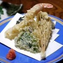 夕食一例(天ぷら)