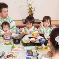 【お部屋食がお得な宿♪】お部屋食をリーズナブルにご提供中。他のお客様を気にせず、ごゆっくりとどうぞ。