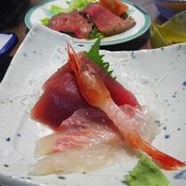 *【夕食一例】お刺身(3点盛)