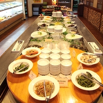 *料理/夕食バイキング:健康食コーナーもあります!「焼肉バンボシュ」