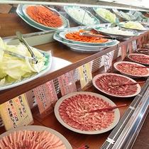 *料理/夕食:焼肉食べ放題!別館レストランにてご用意いたします。