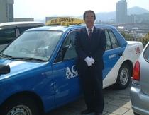 タクシー観光