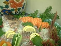 長崎地魚の刺身盛り合せ
