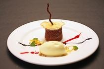 チョコレートケーキと塩ミルクのアイスクリーム(2013冬)