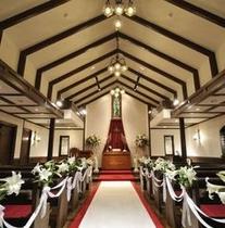 ホテル敷地内「白樺高原教会」