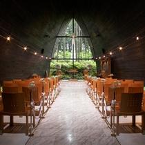 箱根の森高原教会チャペル