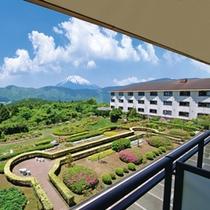 富士見和室からの景観