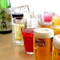 アルコール飲み放題コース(ソフトドリンクを含む)お一人様1680円/90分