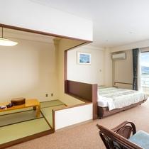 和室側/ご家族旅行や赤ちゃん連れファミリーなど幅広い世代に使いやすい和洋室