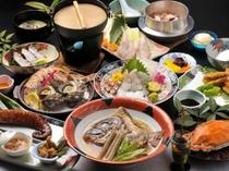 厳選した旬の魚料理を使った当店自慢のコース!『下津井魚自慢』 1泊2食 13,800円〜
