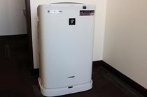 ツイン・ダブルルームのプラズマクラスター空気清浄機
