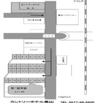 第二駐車場地図