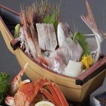 冬の三大味覚(地魚姿造り)