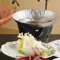 寺泊海鮮鍋・寿司会席(海鮮しゃぶしゃぶ)