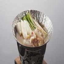 海鮮三昧プランのアンコウ鍋です!