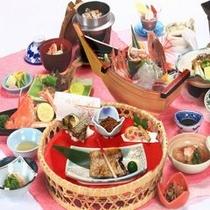 新潟の味ノドグロ・アワビ贅沢プラン