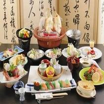 寺泊海鮮鍋・寿司会席