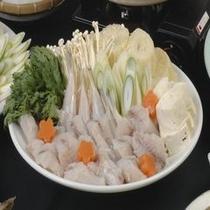 寺泊港・グルメ鍋プラン(ふぐ鍋)