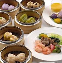 飲茶&中華食べ放題《中国料理 金紗沙/昼食》